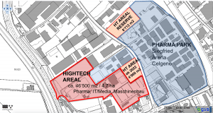 Areal Grundstücke